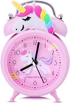 Mermaid Room Decor, Unicorn Bedroom Decor, Clock For Kids, Alarm Clocks For Kids, Kids Bedroom Accessories, Kids Toy Shop, Unicorn Birthday Decorations, Unicorn Fashion, Unicorn Kids