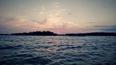 Finnish Archipelago (Inkoo/Ingå) - Midsummer night #Finland Archipelago, Finland, Sailing, Trips, Coast, Explore, Sunset, Night, Winter