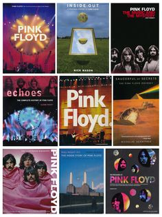 A Collection Of Great Pink Floyd Books David Gilmour, Great Bands, Cool Bands, Musica Punk, Band Posters, Music Posters, Pink Floyd Art, Psychedelic Music, Album Sales