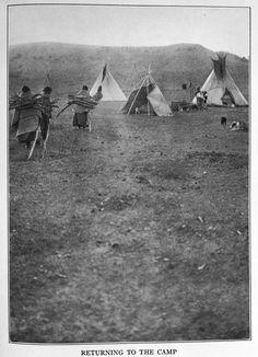 Cheyenne camp