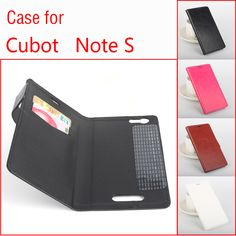 For Cubot Note S Business Tough Protective Leather Book Case For Cubot Note S Stand Credit Card Slot Flip Cover Wallet Case Bag #Affiliate
