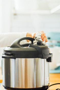 How to Use an Instant Pot: 16 Tips and Tricks That Will Help You Successfully Use the Instant Pot - Live Simply Electric Pressure Cooker, Pressure Cooking, Hot Pot, No Cook Meals, Cooking Time, Being Used, Instant Pot, Slow Cooker, Live