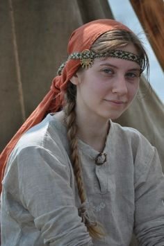 Costume Eastern Slavs: Vyatichi, 11 се. Фотографии Дмитрия Artsiomenka | 13 альбомов