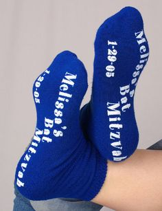 Bar #Mitzvah Grippy Socks