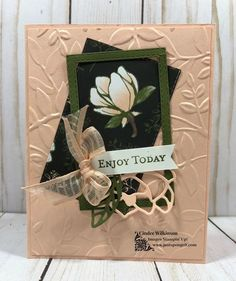 Team Meeting Featuring the Magnolia Lane Suite – Just Sponge It! - Team Meeting Featuring the Magnolia Lane Suite – Just Sponge It! Stampin Up Catalog, Stamping Up Cards, Card Envelopes, Paper Cards, Flower Cards, Creative Cards, Greeting Cards Handmade, Homemade Cards, Making Ideas