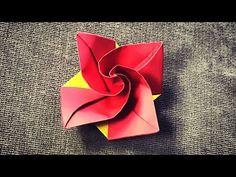 《折纸世界》钻石玫瑰 - YouTube