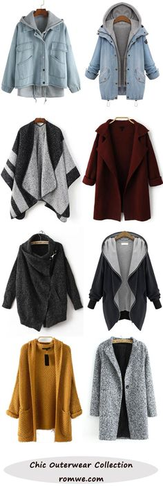 Outerwear Collection from romwe.com