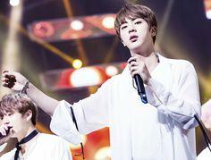 Jin ❤ BTS At Inkigayo (170226) #BTS #방탄소년단