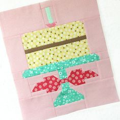 Who Wants To Make A Cake For Quilty Funs 1st Birthday Cute Quilts Easy