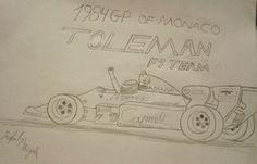 84' Monaco- Senna, Toleman TG-184