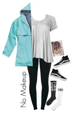 """""""OOTD Rainy Day"""" by totallyelizabeth ❤ liked on Polyvore featuring Victoria's Secret, Vans, Winter and storm"""