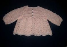 Baby Ripple Sweater I used Simply Soft Yarn size G hook Buttons **(Please remember that different yarns, different size hooks and also...