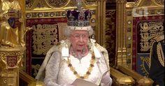 Elizabeth II promete no Parlamento novas medidas contra extremismo