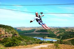 Book your zip line tour today with Lake Eland Game Reserve at Oribi Gorge, South Africa - Dirty Boots Ocean Sounds, Kwazulu Natal, Game Reserve, Blue Lagoon, Nature Reserve, South Africa, Coast, Zip Lining, Adventure