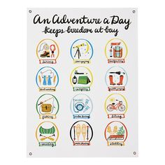 An Adventure a Day Banner  | The Land of Nod