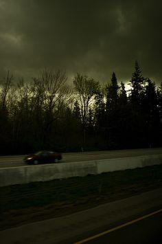 Dark Sky, Ghost Car by The Angry Luddite, via Flickr