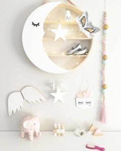 Baby Bedroom Girl Diy Shelves 15 Ideas For 2019 Baby Bedroom, Baby Room Decor, Nursery Room, Boy Room, Kids Bedroom, Nursery Decor, Deer Nursery, Deco Kids, Kids Room Design
