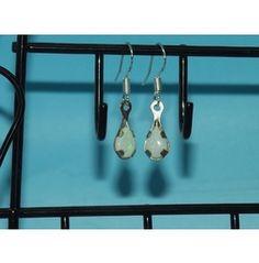 Hand Cut Crafted Opal Earrings
