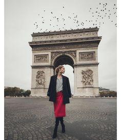 Doutzen Kroes à Paris