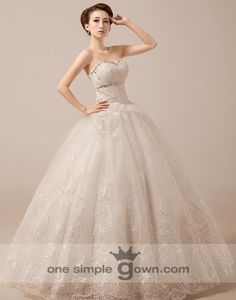 Strapsless Rhinestone Ruching Ball Gown Wedding Gown Gown Wedding 8b4aabed9eb0