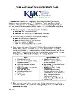 minimum credit score for khc dap
