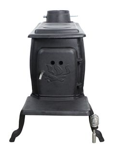 Features:  -Installation materials are not Included (i.e. floor protector, chimney connector, thimble, radiation shield, flue).  -EPA certified as single burn rate stove.  -Two piece safety handle rem