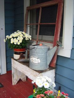 Shabby & Country Life: Old Watering Cans