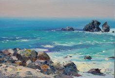 """Rocks Of Foros In Crimea"" - oil, canvas http://www.russianfineart.co/catalog/prod.php?productid=21220 Artist: Schesnyak Viktor"