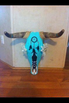 Cow skull I made
