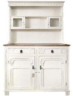 Shabby chic Welsh dresser, £325.00  This top, different bottom.