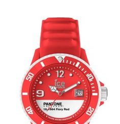 Pantone Universe Watch from Ice Watch in Fiery Red - pantone.com