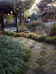 Lan Su Chinese Garden.