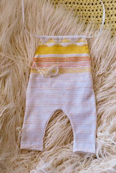 Little Sunshine Newborn Romper Set Baby romper by LeopardontheHOOK