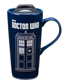 Another great find on #zulily! Doctor Who TARDIS Heat Reactive 20-Oz. Travel Mug #zulilyfinds
