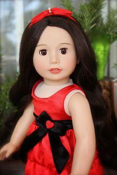 An American Girl Doll Christmas Store: HARMONY CLUB DOLLS, An American Girl Doll Christmas Store
