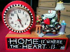 Cute ME clock <3 <3