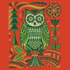 'Owl' by BrokenPencil