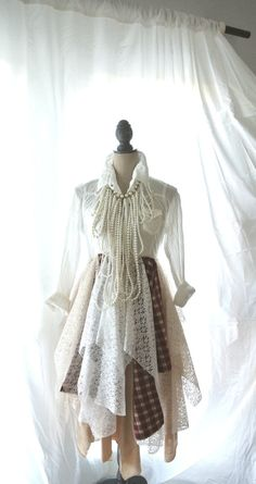 lagenlook lace coat fall jacket winter boho by TrueRebelClothing, $115.00