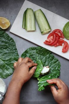BLT Wrap - confessionsofacleanfoodie Quick Collard Greens Recipe, Blt Wrap, Collard Green Wraps, Fresh Rolls, Make It Simple, Meal Prep, Cravings, Avocado, Lunch
