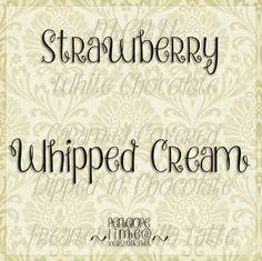 Strawberry Whipped Cream Schriftart | dafont.com
