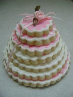 Decorated Sugar Cookie stack