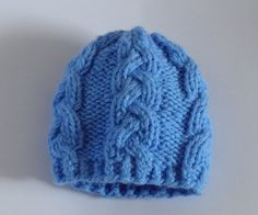 Knit Cable babies Hats Photo Prop Hat Newborn Girl Boy by Ifonka, $16.50