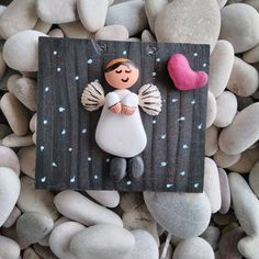 60 Rare and Easy Crafts for Kids that are Worth Trying Pebble Painting, Pebble Art, Stone Painting, Easy Crafts, Diy And Crafts, Crafts For Kids, Arts And Crafts, Stone Crafts, Rock Crafts