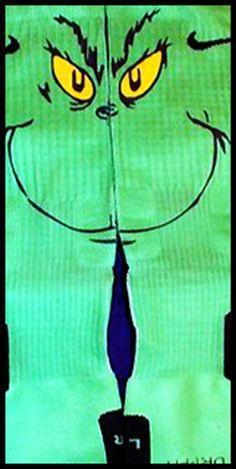 Grinch Inspired Authentic Custom Nike Elite Socks by LuxuryElites, $35.99