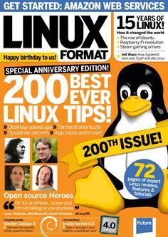 Linux Format. 200 best ever #Linux tips!