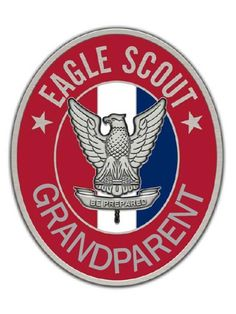 EAGLE SCOUT GRANDPARENT PIN