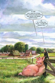 Bauernhof-MARUNDE | Cartoons & Illustrationen von Wolf-Rüdiger Marunde
