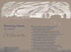 """Returning Season"" by W.S. Merwin"