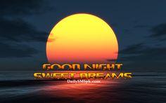 good night for facebook | good night sun set wallpapers images pics fb facebook Good Night Sun ..