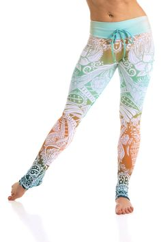 Inspired by henna tattoos, these haute couture Arthletic leggings are truly exotic and one of a kind. With olympic grade compression fabric, and incredible sweat wicking material, you can can still em